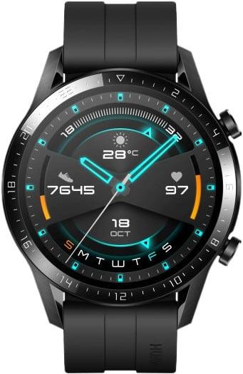 Beste smartwatch Huawei Watch GT 2 in zwart