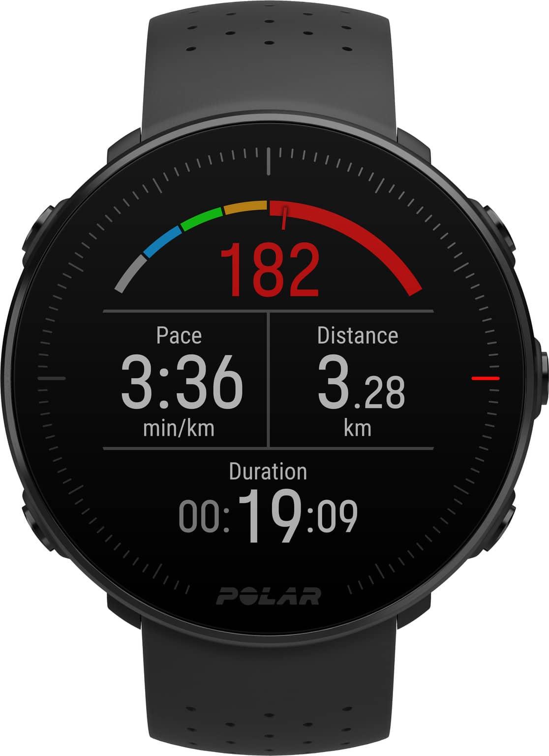 Beste smartwatch Polar Vantage M in zwart