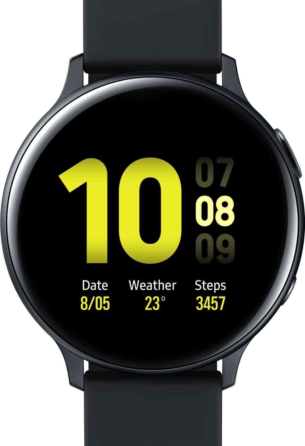 Beste smartwatch Samsung Galaxy Watch Active2 zwart Smartch