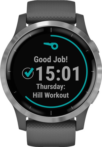 Garmin vivoactive 4s watch donkergrijs Smartch