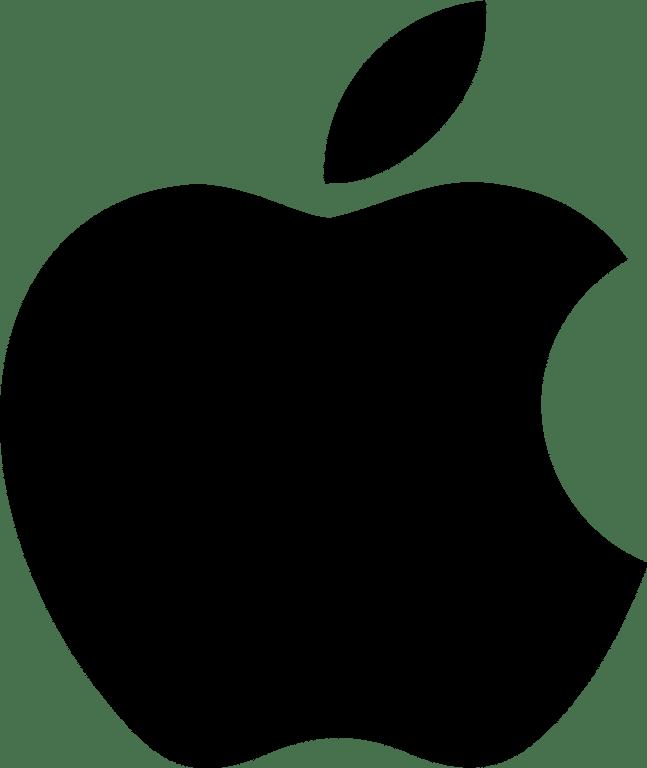 apple logo zwart smartch Smartch