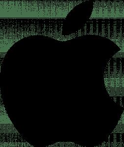 Apple logo black transp Smartch