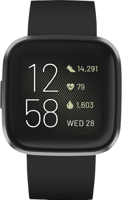 Beste smartwatch Fitbit Versa 2 transparant Smartch