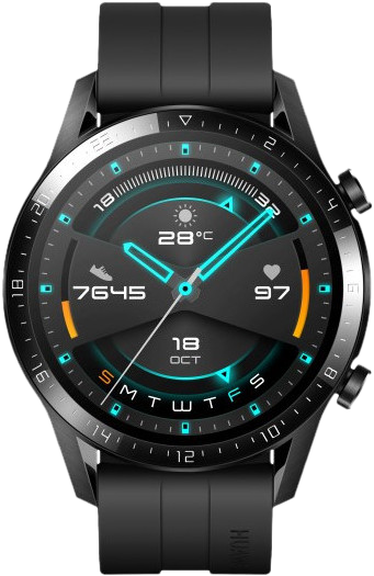 Beste smartwatch Huawei Watch GT 2 zwart transparant Smartch