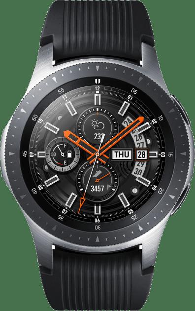 Beste smartwatch Samsung Galaxy Watch 46mm Silver transparant Smartch