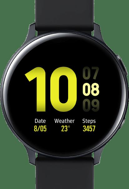 Beste smartwatch Samsung Galaxy Watch Active2 zwart transparant Smartch